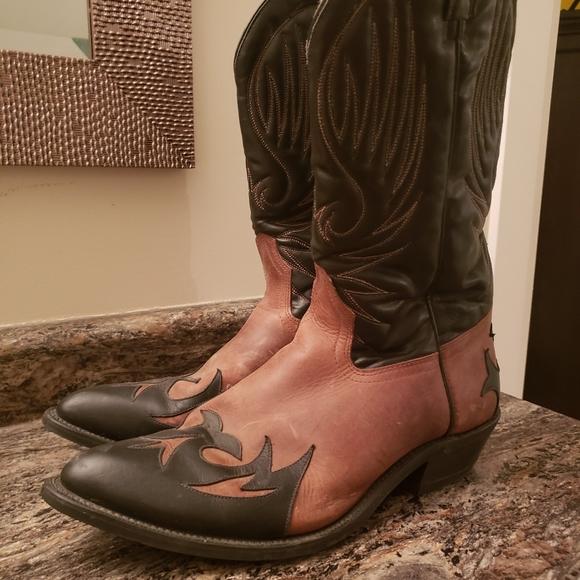 Mens Bullrider cowboy boots